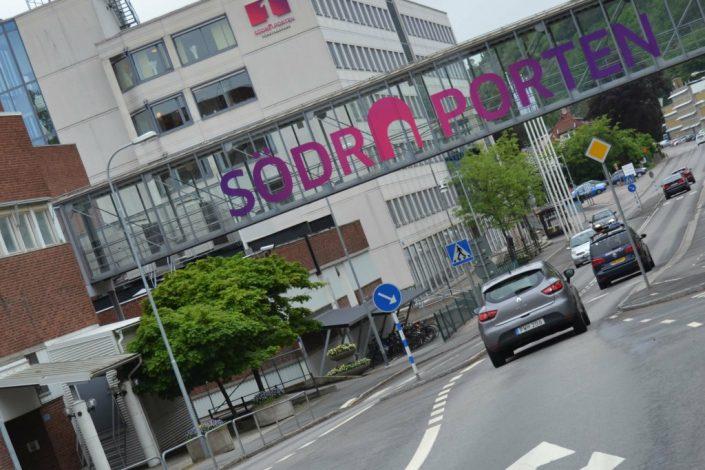 Södra Porten Göteborg Fönsterdekor