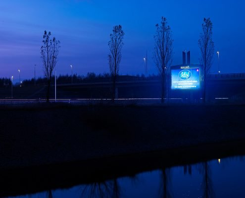 MALMÖ SVÅGERTORP LED DISPLAY